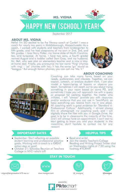 coaching newsletter - september